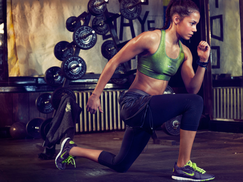 MAP - News – Beau Grealy Photographs Alex Morgan & Angelica Bengtsson for Nike Women AW12 Campaign