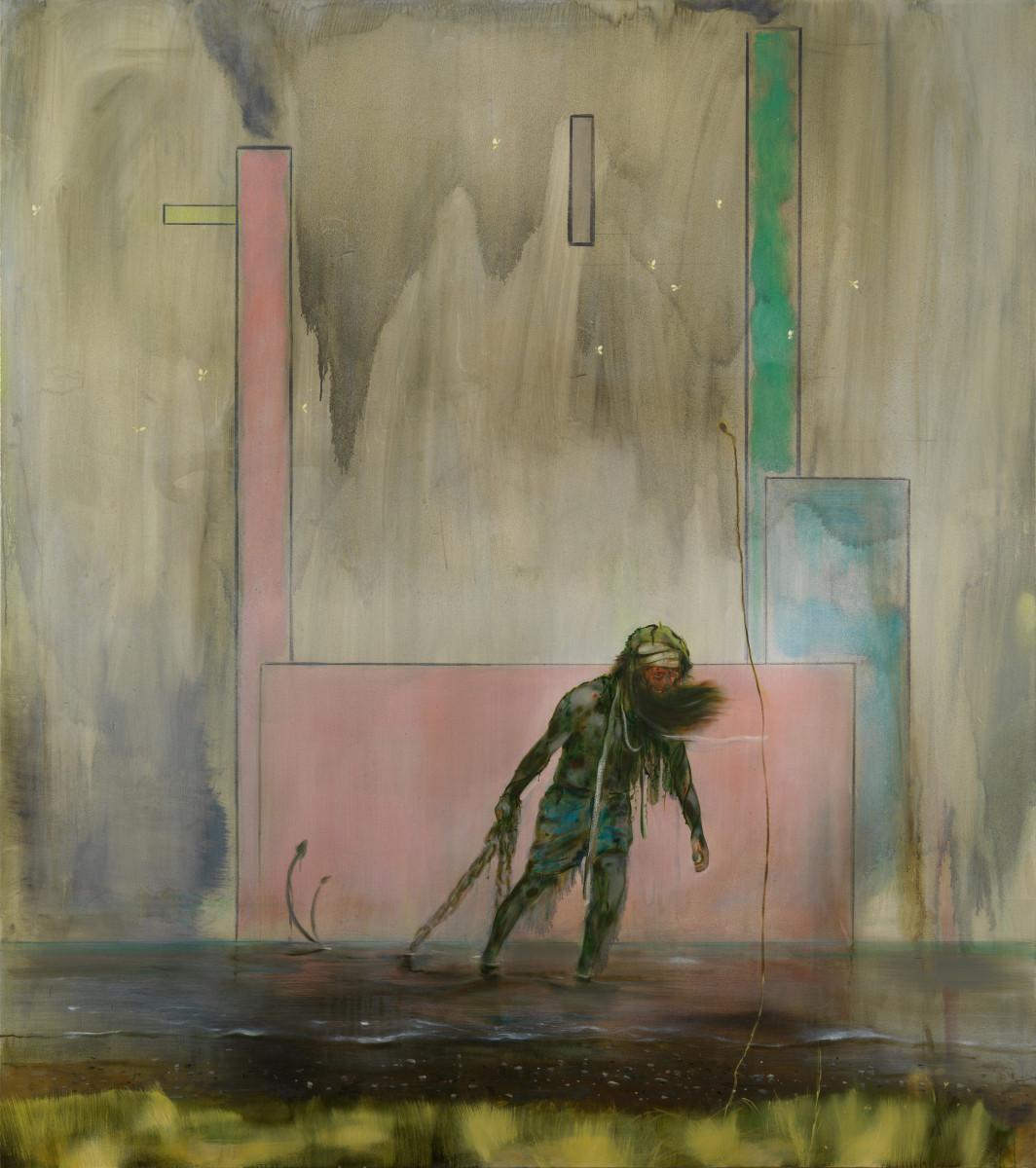 Thinker Ashore – Nigel Cooke