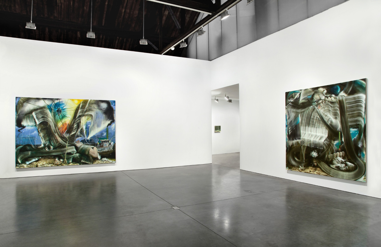 Nigel Cooke, Andrea Rosen Gallery 2012 – Nigel Cooke