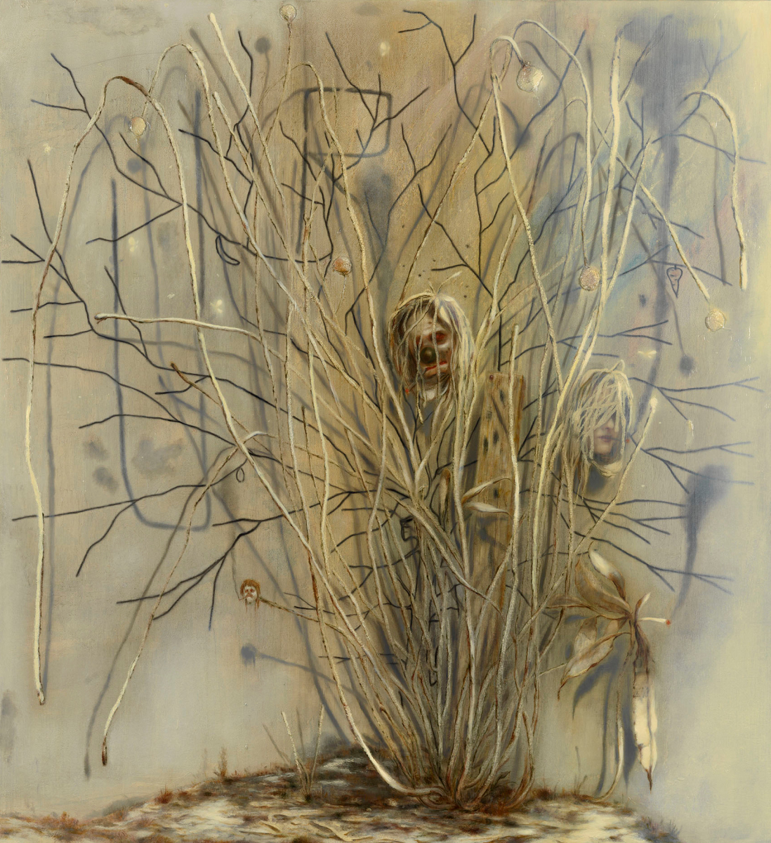 Dumb Plant with Rainbow and Splint – Nigel Cooke