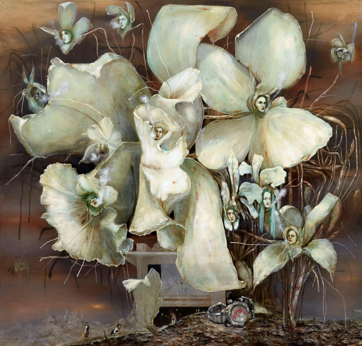 Smoking Flowers – Nigel Cooke