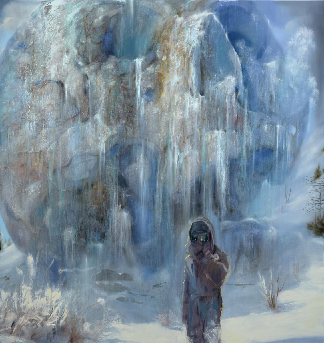 Frozen Waterfall – Nigel Cooke