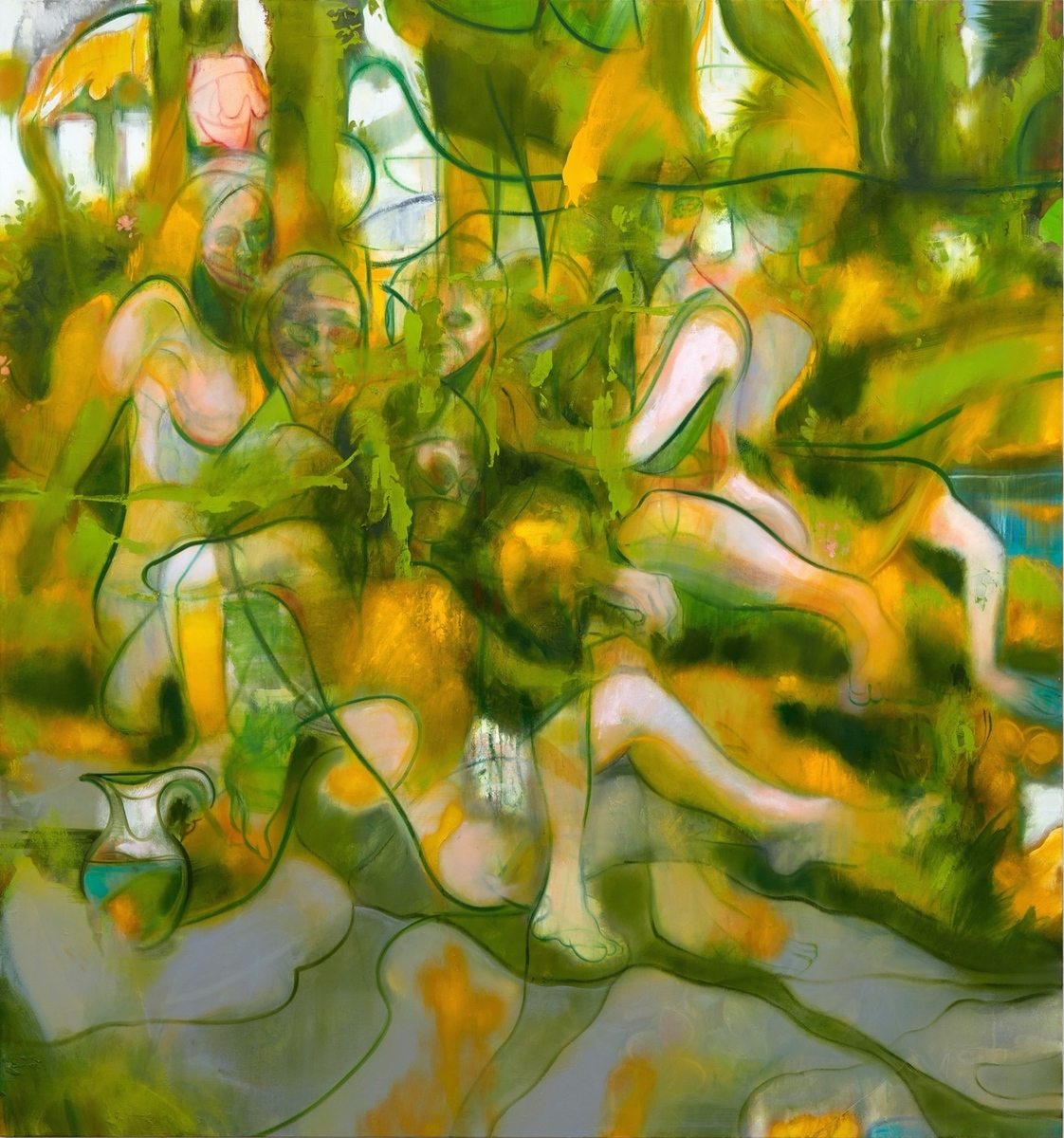 Spring Bathers – Nigel Cooke