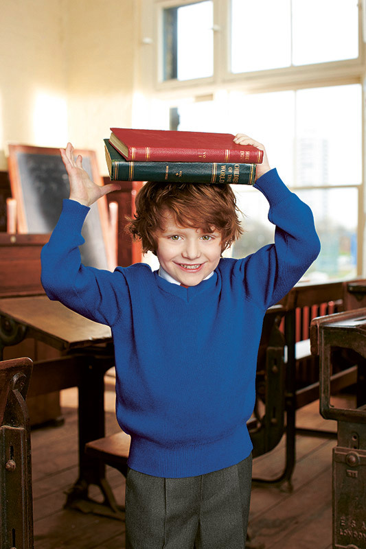 Igor Borisov back to school campaign for John Lewis