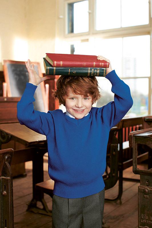 Igor Borisov back to school campaign for John Lewis