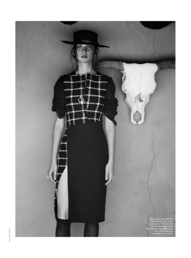 Map News Will Davidson Shoots Fashion At Georgia O